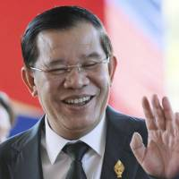 Cambodian MPs re-elect Hun Sen amid opposition boycott