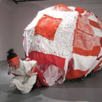 aricoco's 'RUN awayHOME' performance (2011) | COURTESY OF KAWASAKI CITY MUSEUM