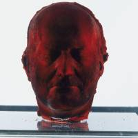 Old and new: Marc Quinn's 'Self', a self-portrait made of his own frozen blood, is the earliest work in a new survey of art. | BLOOMBERG