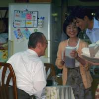 Happier days: The central family in 'Nihon no Higeki (Japan's Tragedy)' seen in flashback, before the events that would rent it asunder. | © 2012 MONKEY TOWN PRODUCTIONS