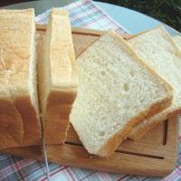 Slice of life: A Japanese shokupan loaf is usually white and much fluffier than bread overseas. | MAKIKO ITOH
