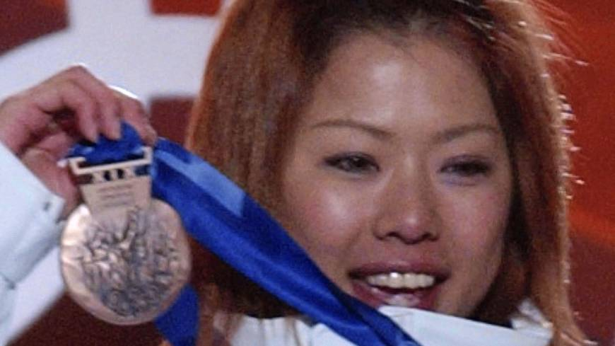 Shamed: Olympic skiing gold medalist Tae Satoya was involved in a ruckus at 911 Black in Roppongi in 2005 that cost her her job at Fuji TV and her place on Japan's World Cup ski team .