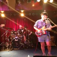 School of rock: Japanese indie band Teen Runnings play at Shibuya-area venue Chelsea Hotel for Rock God Dam festival in Tokyo on Sept. 14. | WESLEY BUNCH