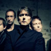 Staying together: British rock group Suede (from left: Richard Oakes, Mat Osman, Brett Anderson, Simon Gilbert and Neil Codling) is coming to Japan for a three-city tour to promote its new album 'Bloodsports.'