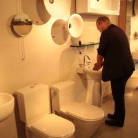 European designer bathroom gear to flush out your purse at Aqualabo. | KIT NAGAMURA