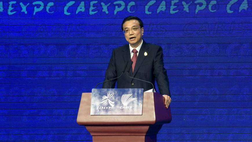 Chinese Premier Li Keqiang will attend and address the opening ceremony of Summer Davos on Sept. 11.