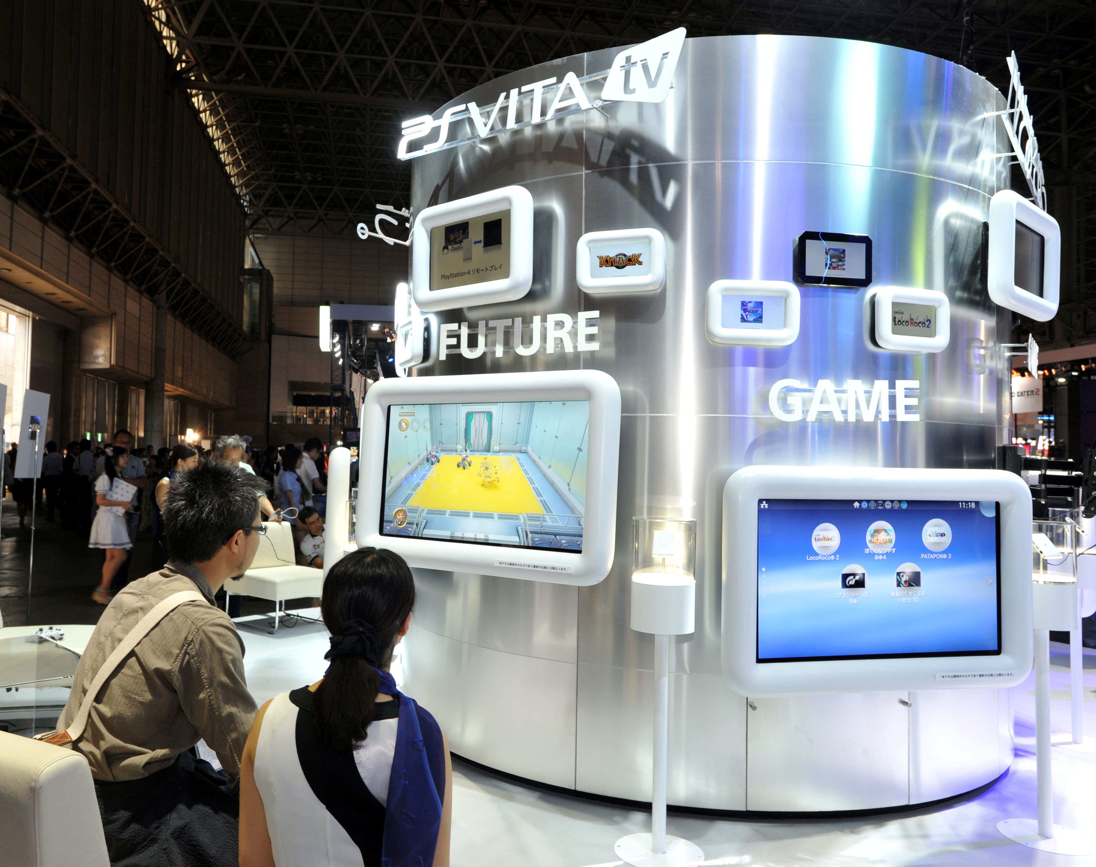 Kids Exhibition Booth : Sony microsoft to square off at tokyo game show the