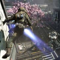 Spring is in the air: 'Titanfall' by Respawn Entertainment has Japanese gamers exited about its manga- and anime-inspired mecha. The demo at last weekend's TGS even featured cherry blossoms. | RESPAWN ENTERTAINMENT