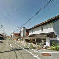 Ghost town: One of the new images posted on Google's Street View shows a recent shot of an evacuated neighborhood in Futaba, Fukushima Prefecture, near the crippled Fukushima No. 1 nuclear plant. | KYODO