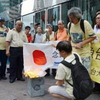 Senkakus protest in Hong Kong draws little attention