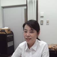 Giving voice: Lawyer Akiko Kuribayashi is interviewed in Tokyo earlier this month. | TOMOHIRO OSAKI