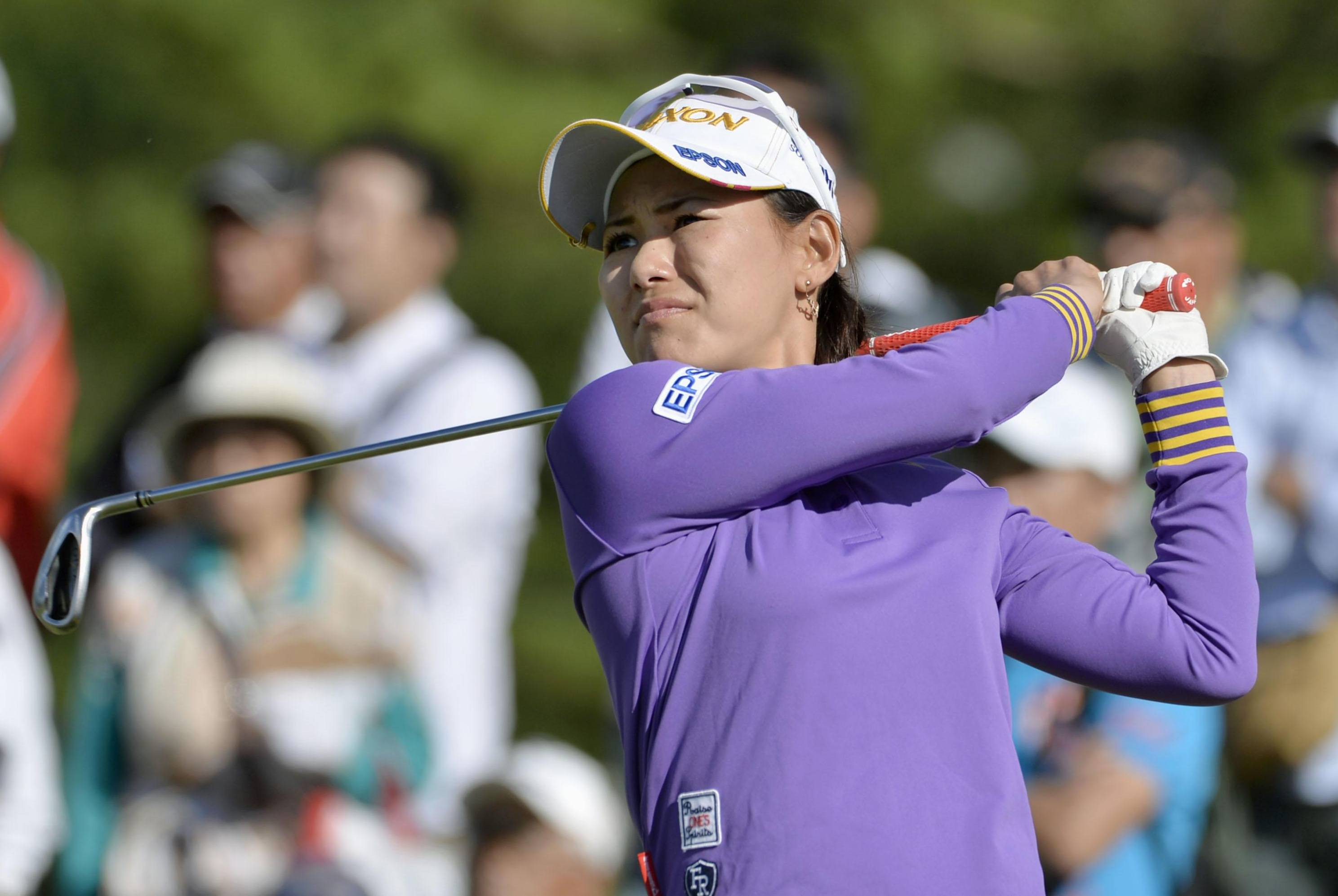 Miyazato tied for lead after first round of Miyagi TV Cup