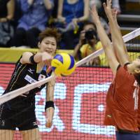 Japan men, women spikers earn victories in Asian qualifying