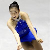 Seeking a repeat feat: Kim Yu-na is hoping to go out on top at the Sochi Games with a second straight Olympic gold medal. | AP