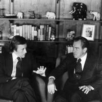 TV figure David Frost, of Nixon apology fame, dies at 74