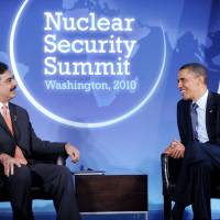 Watch your friends: U.S. President Barack Obama meets with Pakistan's then-prime minister, Yousuf Raza Gilani, at Blair House in Washington in April 2010. For the U.S., no other nation draws as much scrutiny across so many categories of national security concern, leaked documents show. | BLOOMBERG