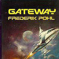 First edition cover of Frederik Pohl's award-winning sci-fi novel 'Gateway' | WIKIPEDIA
