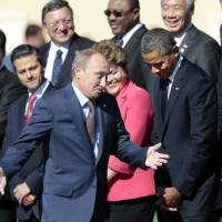 Obama, Putin face off over Syria at G-20