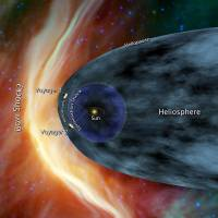 Distant travels: This illustration released by NASA/JPL-Caltech shows Voyager 1 and Voyager 2 at the edge of the solar system. | AFP-JIJI
