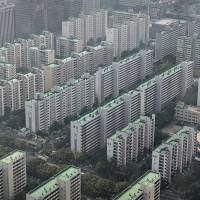 Picture of prosperity: After decades of growth, South Korea has a skyline to match, with a coast-to-coast line of apartments, such as the Yeouido-dong section of Seoul. | THE WASHINGTON POST