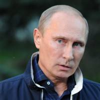 Shrewd statecraft: Russian President Vladimir Putin speaks to the media about Syria during a trip to Vladivostok on Aug. 31. Putin scored a major diplomatic coup when he persuaded the U.S. to sign on to his plan to end the Syrian chemical weapons crisis. | AP