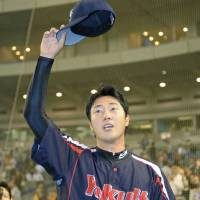 Matsuoka tosses shutout against Giants