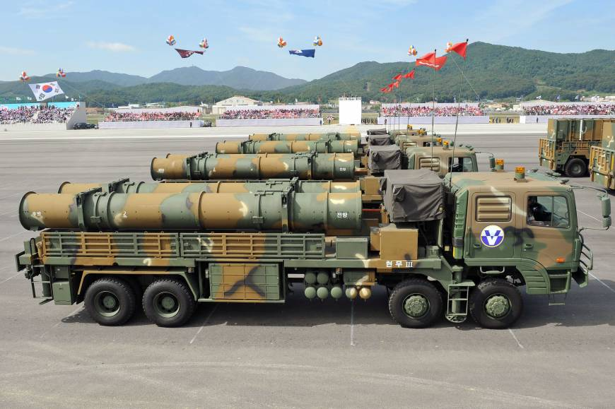 Ww3 Missile Parade Video South Korea Boasts Domestically