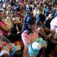 Mass breast-feeding record attempted in Philippines