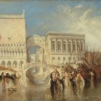 'Venice, the Bridge of Sighs' (exhibited 1840) | ©TATE 2013-2014