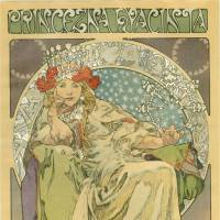 Alfons Mucha's 'Princezna Hyacinta (Princess Hyacinth)' (1911) | THE TRIMAL COLLECTION