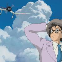 Wise old men: 'Kaze Tachinu' ('The Wind Rises') encompasses the kind of conflicted memories of World War II that director Hayao Miyazaki and his generation share. Miyazaki's anti-nuclear comments have angered right-wingers — many of whom are too young to remember the horrors of war. | © 2013 NIBARIKI • GNDHDDTK