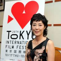 Dramatic force: Actress Shinobu Terajima is serving as a juror for this year's Tokyo International Film Festival. | YOSHIAKI MIURA