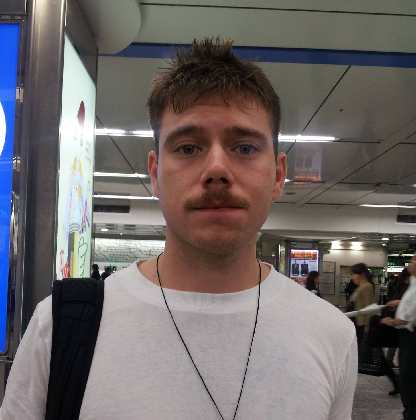 Robert J. Kelley, United States Navy, 22  (American): Foreigners aren't aware of  Japan's complicated recycling  policies. Better explanations  of that — as well as more trash  and recycling cans on the  street — would be a good  thing, I think.