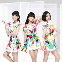 Magic of style: Perfume members (left to right) Ayaka 'A-chan' Nishiwaki, Yuka 'Kashiyuka' Kashino and Ayano 'Nocchi' Omoto show off the dresses from the music video for '1mm,' the first single off the band's new album 'Level3.'
