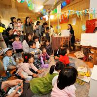 Fun for all: Kids can enjoy storytelling and other activities at the Tokyo Toy Festival.