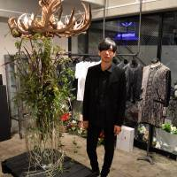 Masanori Morikawa, the designer behind Christian Dada welcomes fans to his first stand-alone store in Harajuku.