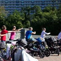 New moms find new ways to exercise — with their strollers