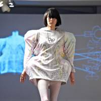 Totally random: The concept behind Etw.Vonneguet's show last year was 'random value,' and the clothes were first made using CG. | SAMUEL THOMAS
