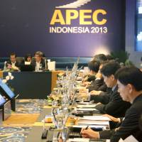 APEC ends prep session without timeline for connectivity target
