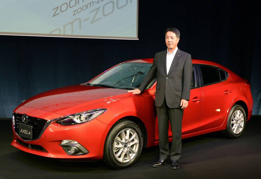 Mazda To Debut Domestic Hybrid The Japan Times