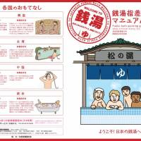 Staying out of hot water: The 'Public bath pointing guidance manual' includes important do's and don'ts for non-Japanese visiting public bathhouses in Tokyo. | TOKYO SENTO ASSOCIATION