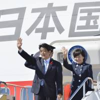 Abe's wife speaks up for international exchanges
