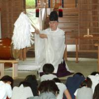 Shinto priest blazes trail as a community activist