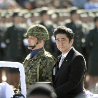 Abe issues fresh warning to China on isle row
