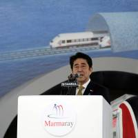 Abe vows atomic safety as Turkey buys plant