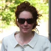 Executive derision: Former News International Chief Executive Rebekah Brooks arrives at Southwark Crown Court in London on June 6 | AFP-JIJI