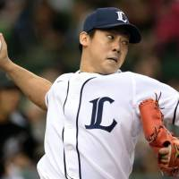 Seibu's Okamoto stays focused as teammates cut loose