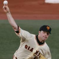 Giants' Houlton hungry to capture third consecutive Japan Series title