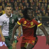 Muscles from Brussels: Belgium, featuring striker Romelu Lukaku, will provide a stern test for Alberto Zaccheroni's Japan in Brussels on Nov. 19. | AP