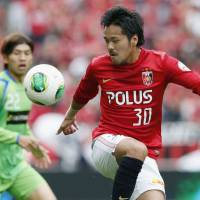 Key contributor: Urawa Reds striker Shinzo Koroki has scored nine goals for the J.League squad this season. | KYODO